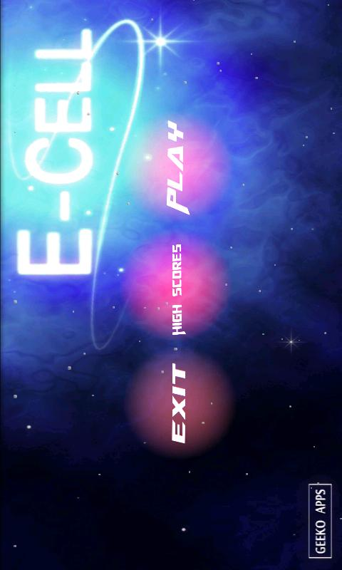 E-Cell (No Heyzap) - screenshot