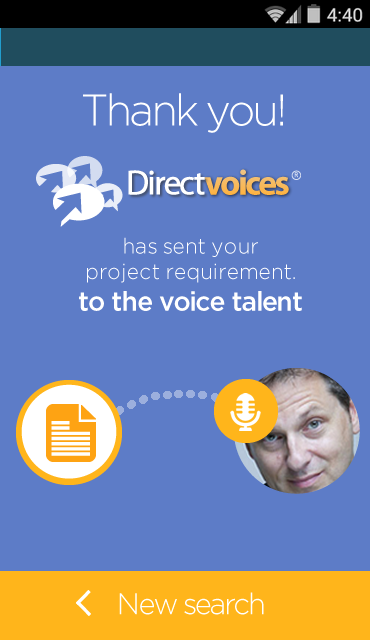 DirectVoices- screenshot