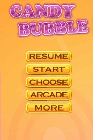 Candy Bubble Shot