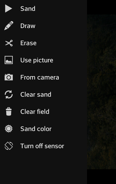 A Sand Camera - screenshot