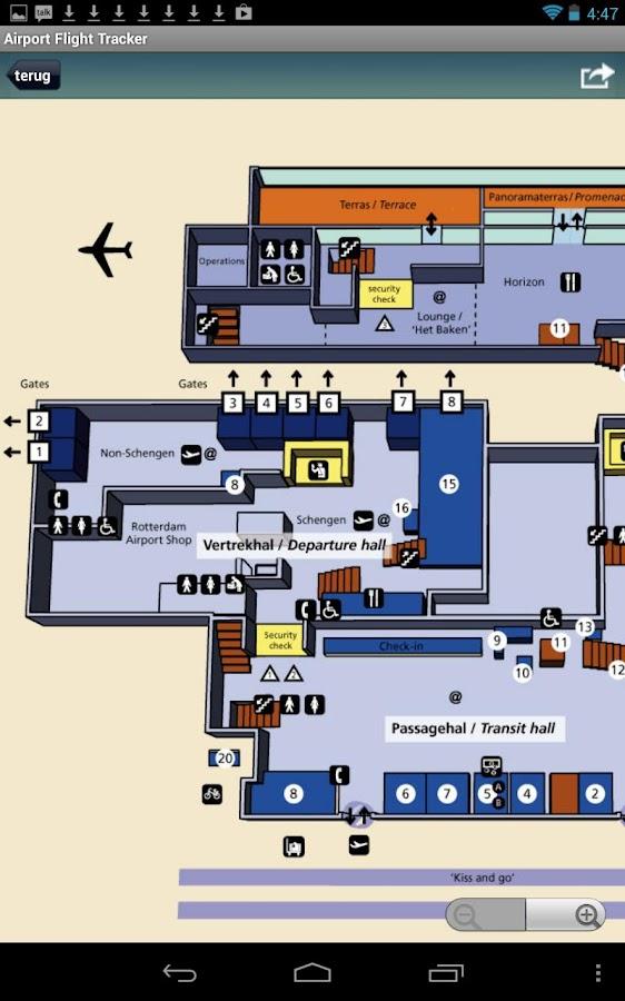Amsterdam Schiphol Airport - screenshot