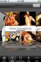 Screenshot of HIDE YAMAMOTO