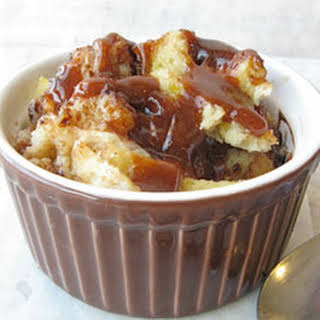 Microwave Bread Pudding.