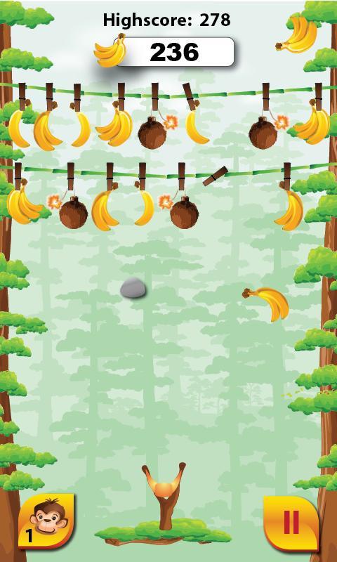 Monkey Banana Game go Bananas Monkey Fun Game