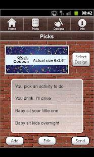 LOVE COUPONS screenshot