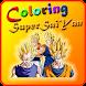 Coloring Super Saiyan