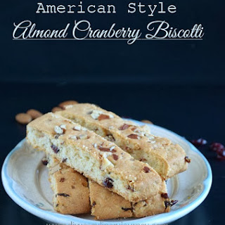 American style Almond Cranberry Biscotti