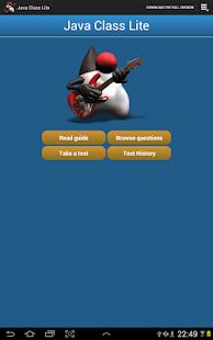 Java Class Lite - screenshot thumbnail