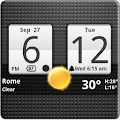 App Sense Analog Clock Widget APK for Kindle