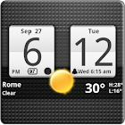 Sense Analog Clock Widget icon