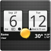 Sense Analog Clock Widget APK for Bluestacks