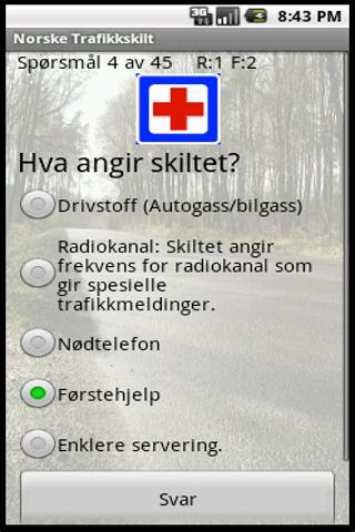 Norske Trafikkskilt - screenshot