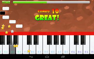 Screenshot of Piano Master FREE
