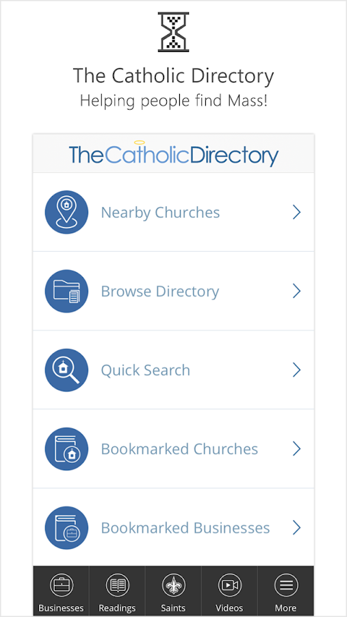 Catholic Directory Mass Times- screenshot