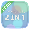 Colorful Day 2 In 1 Theme icon