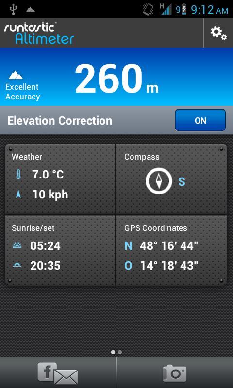 Runtastic Altimeter PRO- screenshot