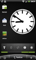 Screenshot of Bahnhof Clock