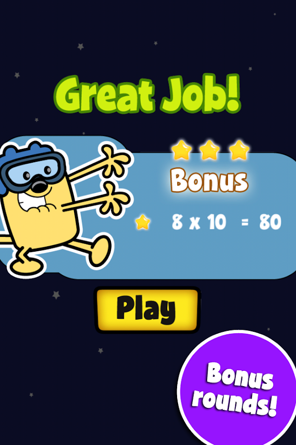 Wubbzy's Mash-Em Fun - screenshot