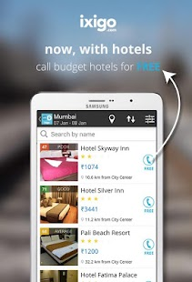 indian rail train info hotels - screenshot thumbnail