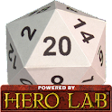 Hero Lab Character Sheet icon