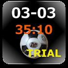 サッカー スコアーボード(Trial) icon