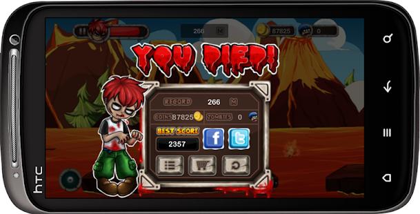 玩免費冒險APP|下載Zombie War : Dragon Volcano app不用錢|硬是要APP