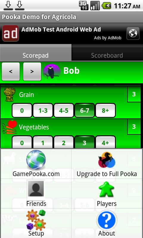Pooka Demo for Agricola- screenshot
