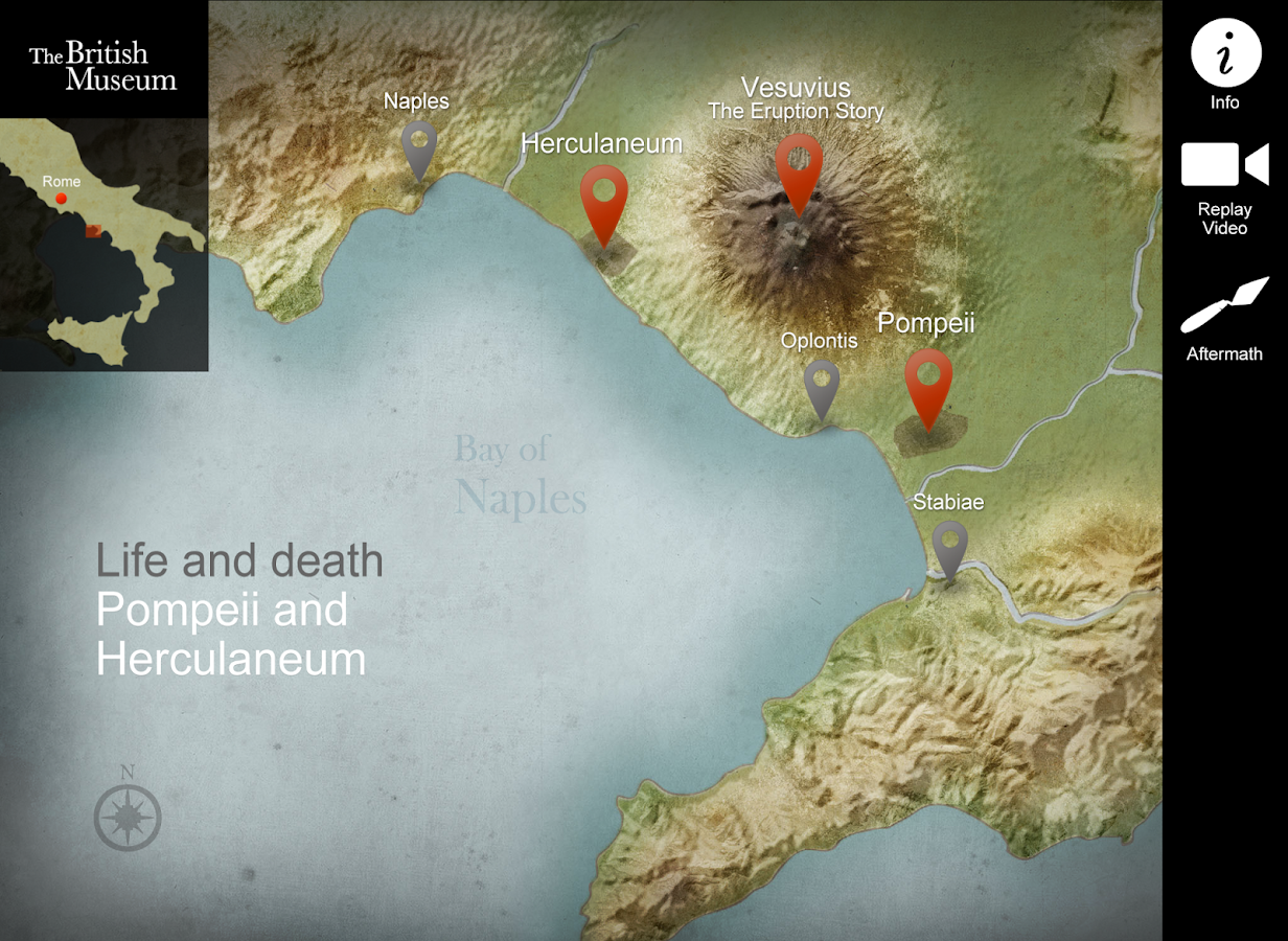 Pompeii and Herculaneum - screenshot