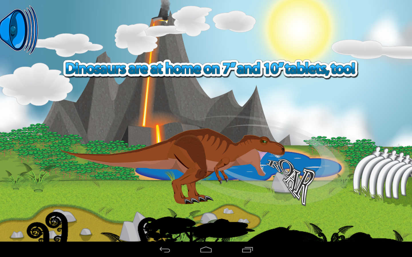 kids dinosaur game rexreation android apps on google play