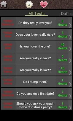Love: Test Me screenshot