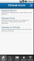 Screenshot of YU Torah
