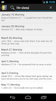 Screenshot of Morning & Evening Devotional