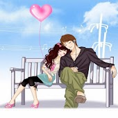 Sweet Love Cartoon Backgrounds