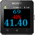 Discount Calculator Smartwatch icon