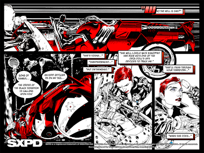 SXPD The Comicbook Game Hybrid Screenshot 3