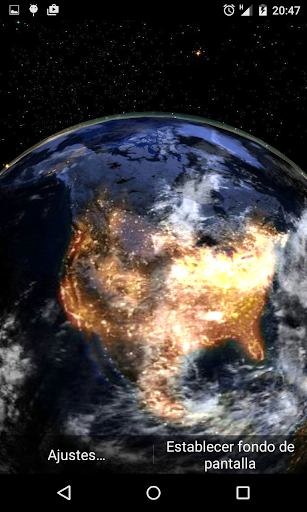 Space Earth Live Wallpaper