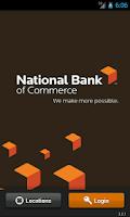 Screenshot of NBC Mobile Banking
