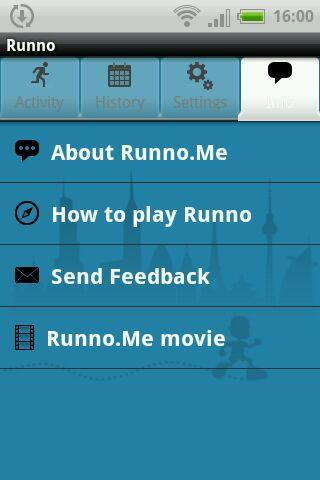 Runno - screenshot