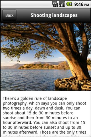 DSLR Camera - Photo Guide Screenshot 2