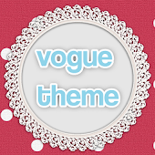 Vogue theme for Go Launcher EX