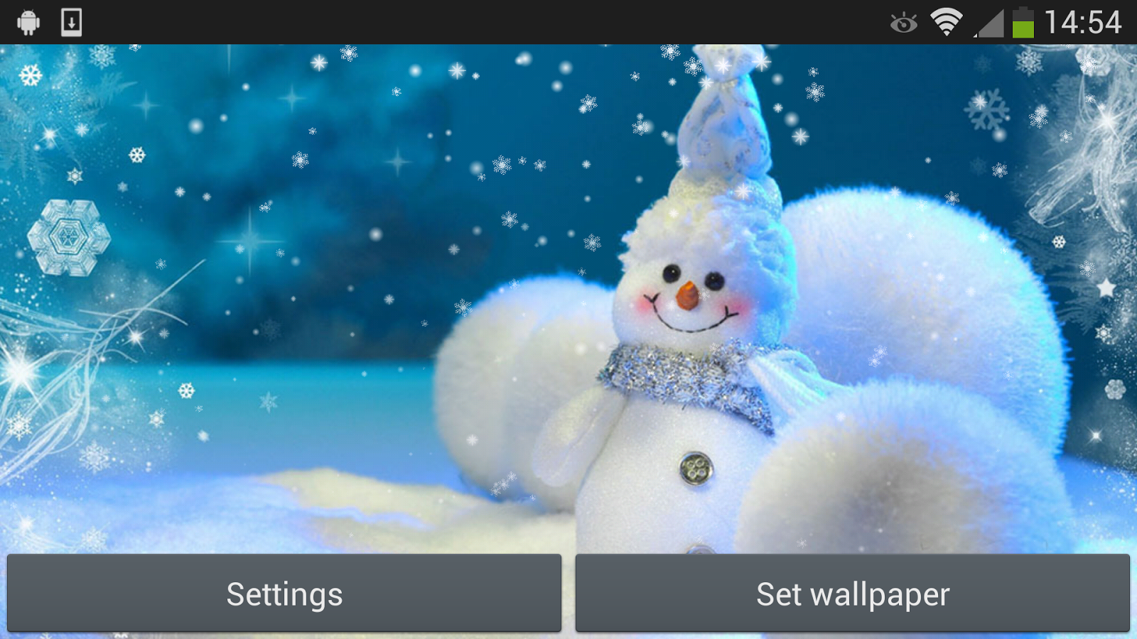 christmas snowman android apps on google play