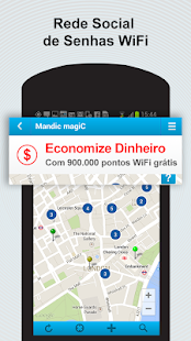 Mandic magiC - Senhas WiFi: miniatura da captura de tela