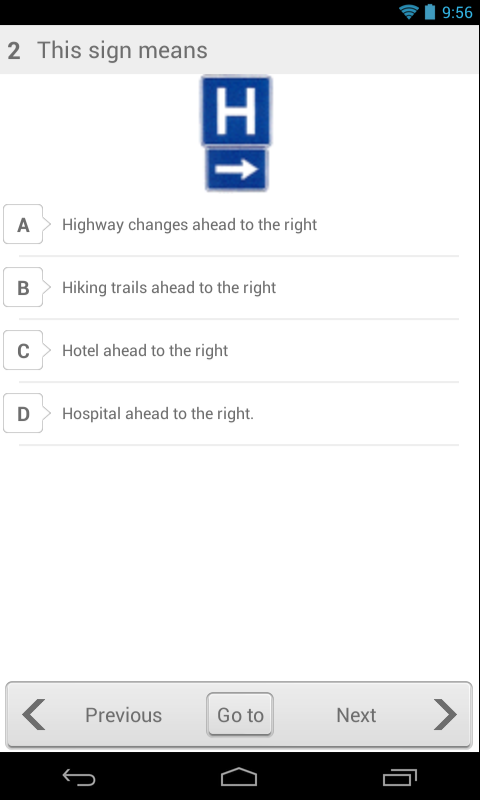 Alaska Driving Test- screenshot