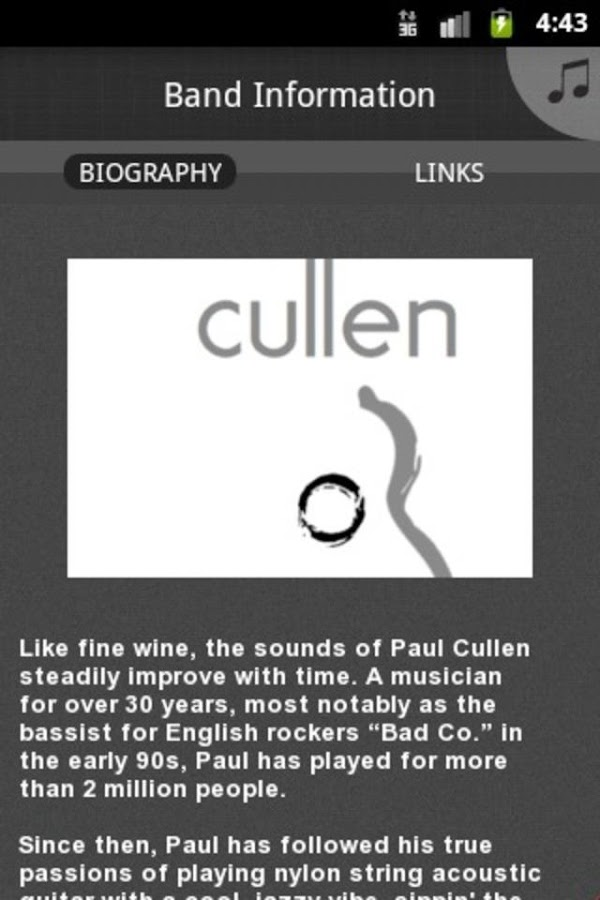 Paul Cullen - screenshot