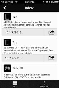 CityByApp® San Jacinto! - screenshot thumbnail