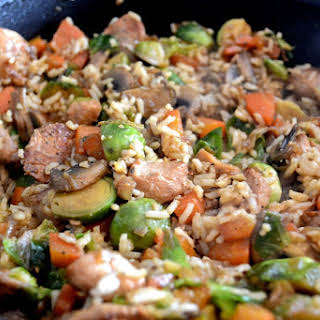 Chicken Fried Rice for #WeekdaySupper.