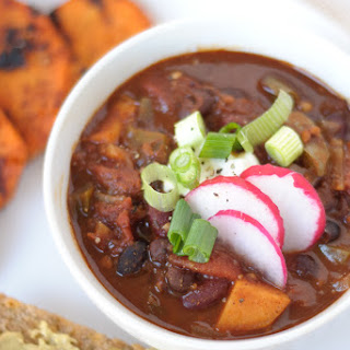 Vegetarian Sweet Potato Chili.