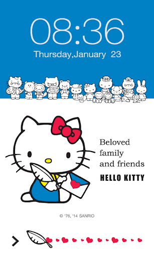Hello Kitty Beloved ScreenLock