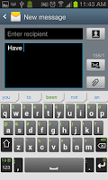 Screenshot of iKnowU Keyboard REACH FREE