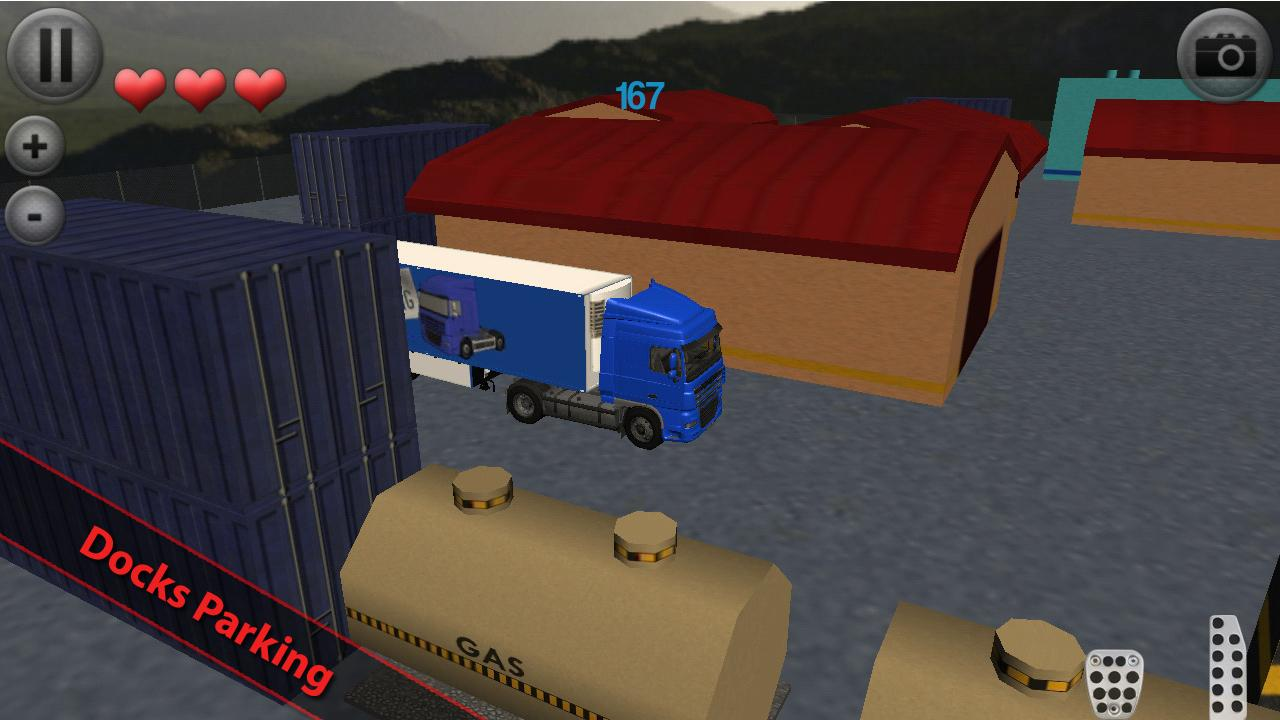 Euro Truck Parking - screenshot